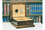 This all wood humidor is a great gift idea for the cigar enthusiast