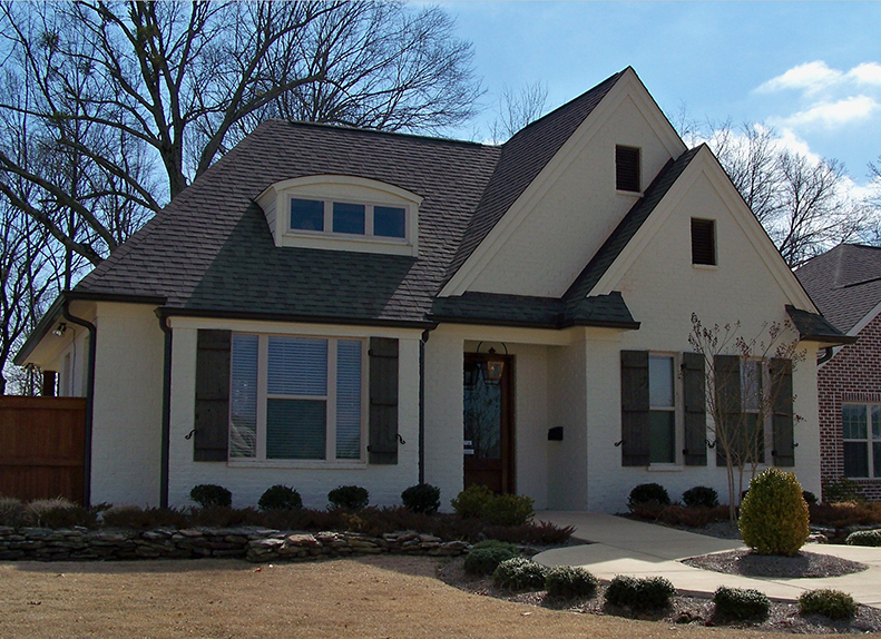 Building Plans Front of Home -  075D-7503 | House Plans and More