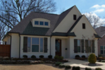 Traditional House Plan Front of Home -  075D-7503 | House Plans and More