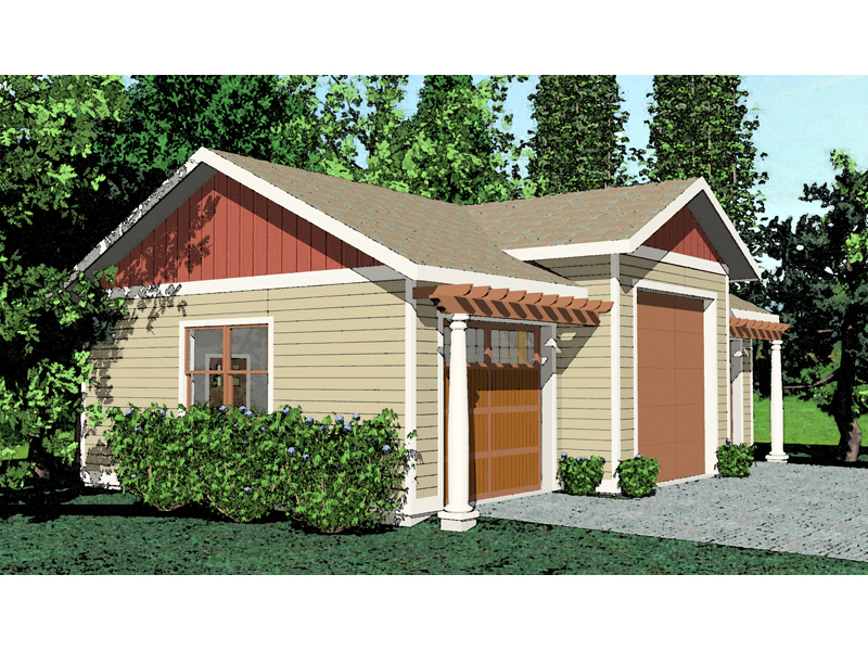 Building Plans Front of Home 104D-6002 | House Plans and More