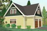 Building Plans Front of Home - 104D-7500 | House Plans and More