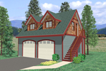Building Plans Front of Home - 104D-7501 | House Plans and More