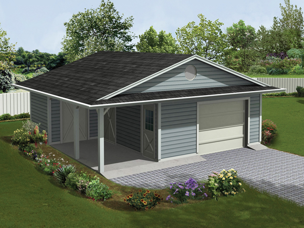 Jaceycrest Garage With Porch Plan 107d 6004 House Plans