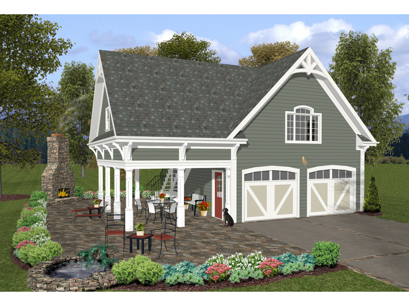 Building Plans Front of Home 108D-6000 | House Plans and More