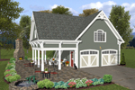 Building Plans Front of Home - 108D-6000 | House Plans and More