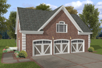 Building Plans Front of Home - 108D-6001 | House Plans and More