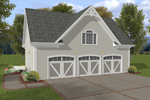 Building Plans Front of Home - 108D-6002 | House Plans and More