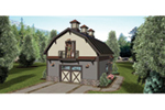 Saltbox House Plan Front of Home - 108D-7507 | House Plans and More
