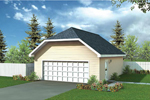 Building Plans Front of Home - 109D-6009 | House Plans and More
