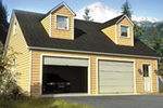 Cape Cod and New England Plan Front of Home - 109D-6013 | House Plans and More
