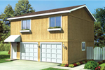 Building Plans Front of Home - 109D-6018 | House Plans and More
