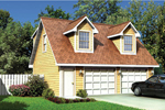 Building Plans Front of Home - 109D-6019 | House Plans and More
