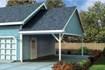 Building Plans Front of Home - 109D-6022 | House Plans and More