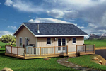 Cabin & Cottage House Plan Front of Home - 109D-7500 | House Plans and More