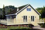 Cabin & Cottage House Plan Front of Home - 109D-7501 | House Plans and More