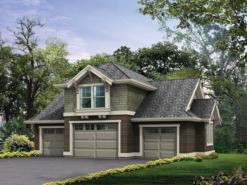 Roland Craftsman Garage Plan 110D-7500 | House Plans and More