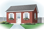 Building Plans Front of Home - 113D-4504 | House Plans and More