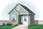 Building Plans Front of Home - 113D-4506 | House Plans and More