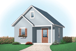 Building Plans Front of Home - 113D-4507 | House Plans and More
