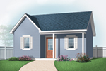 Building Plans Front of Home - 113D-4510 | House Plans and More