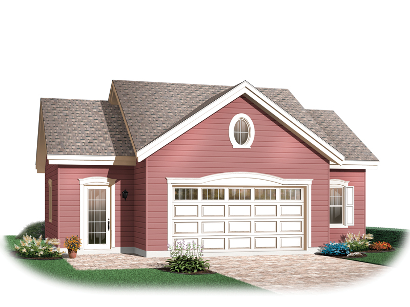Building Plans Front of Home 113D-6018 | House Plans and More