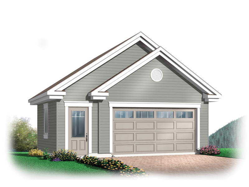 Image Result For House Plan Garage In Back