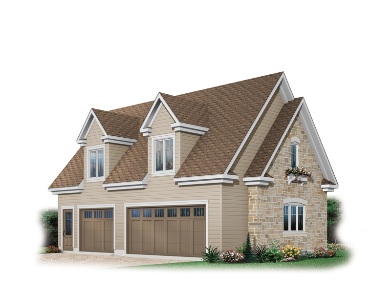 Craftsman Plan Front of Home 113D-6029 | House Plans and More