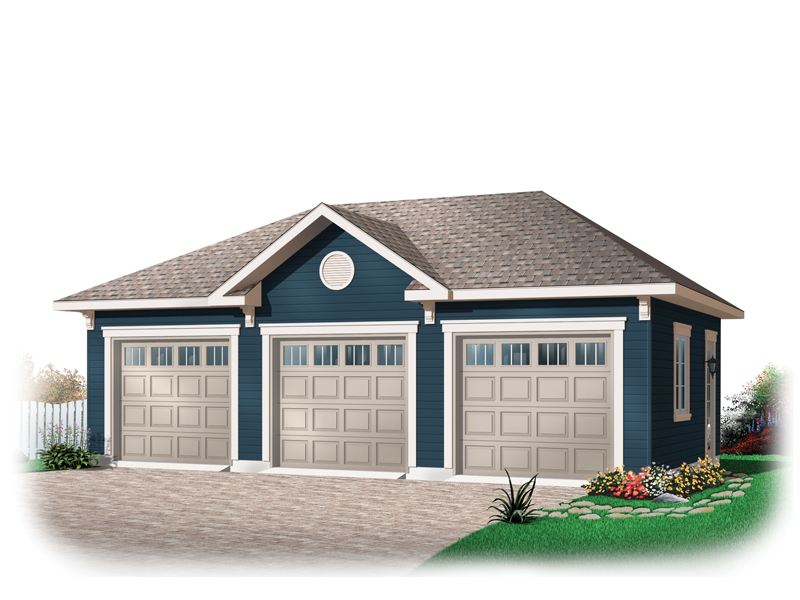 Lynwood three car garage plan 113d 6031 house plans and more for 3 car detached garage cost