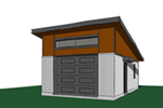 Building Plans Front of Home - 113D-6033 | House Plans and More