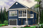 Building Plans Front Photo 03 - 113D-7502 | House Plans and More