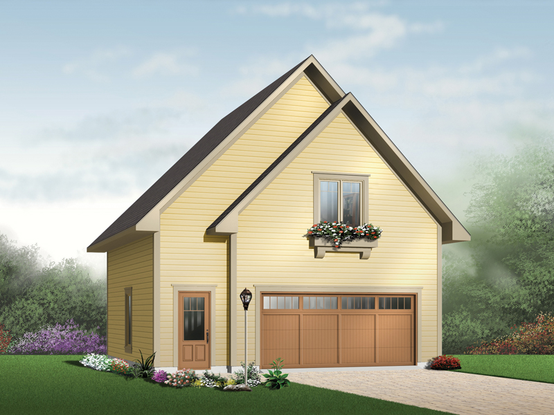 Piketon country two car garage plan 113d 7503 house for Gable roof garage