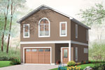 Building Plans Front of Home - 113D-7507 | House Plans and More