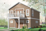 Building Plans Color Image of House - 113D-7507 | House Plans and More
