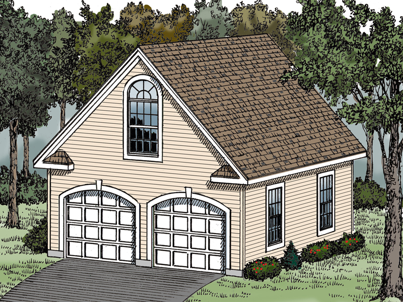 Building Plans Front of Home 114D-6000 | House Plans and More