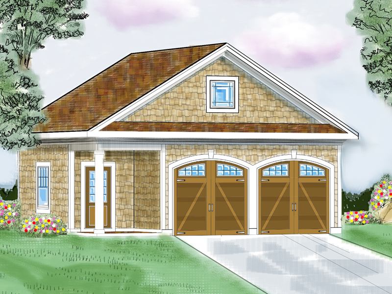 Building Plans Front of Home 114D-6001 | House Plans and More