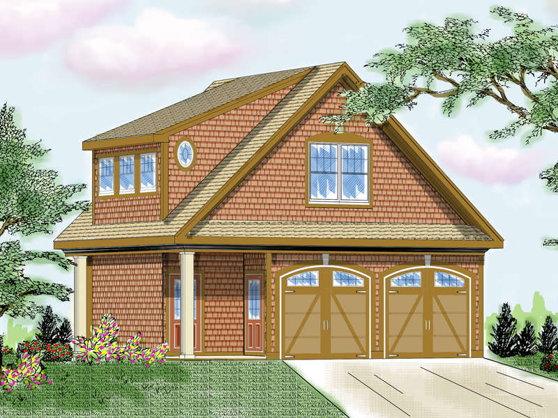 Building Plans Front of Home 114D-6002 | House Plans and More