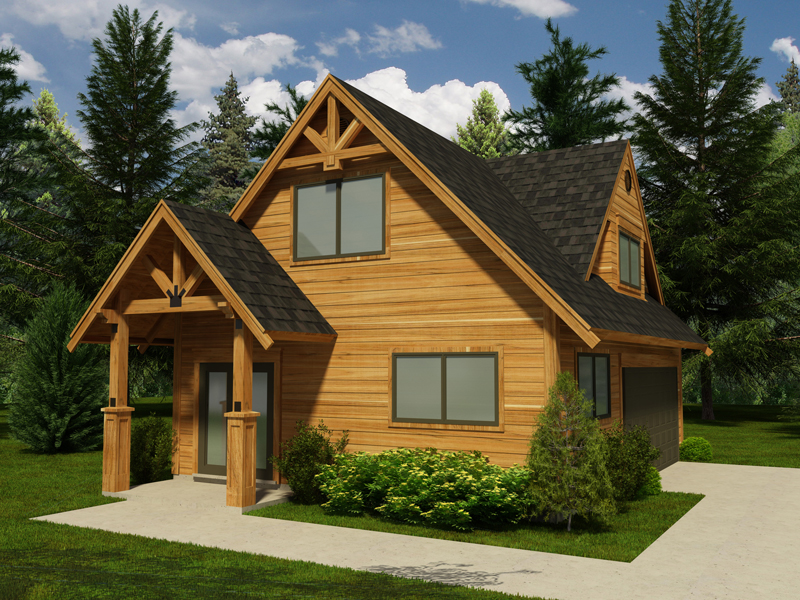Building Plans Front of Home - 117D-6001 | House Plans and More
