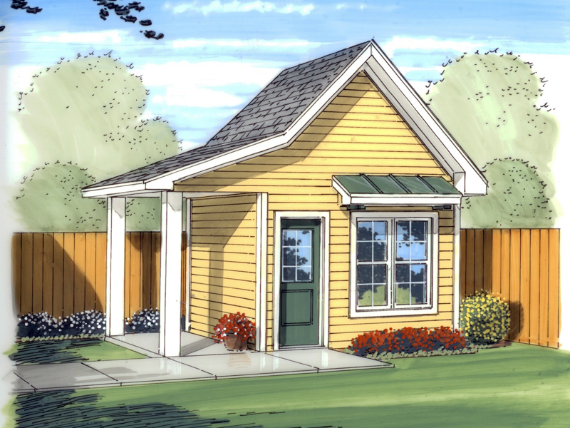 Building Plans Front Image   125D 4501   House Plans And More
