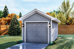 Building Plans Front of Home - 125D-6005 | House Plans and More