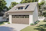 Building Plans Front of Home - 125D-6006 | House Plans and More