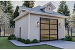 Building Plans Front of Home - 125D-6009 | House Plans and More