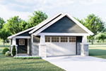 Craftsman House Plan Front of Home - 125D-6012 | House Plans and More