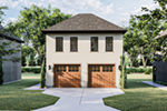 Building Plans Front of Home - 125D-7501 | House Plans and More