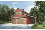 Building Plans Front of Home -  136D-7501 | House Plans and More