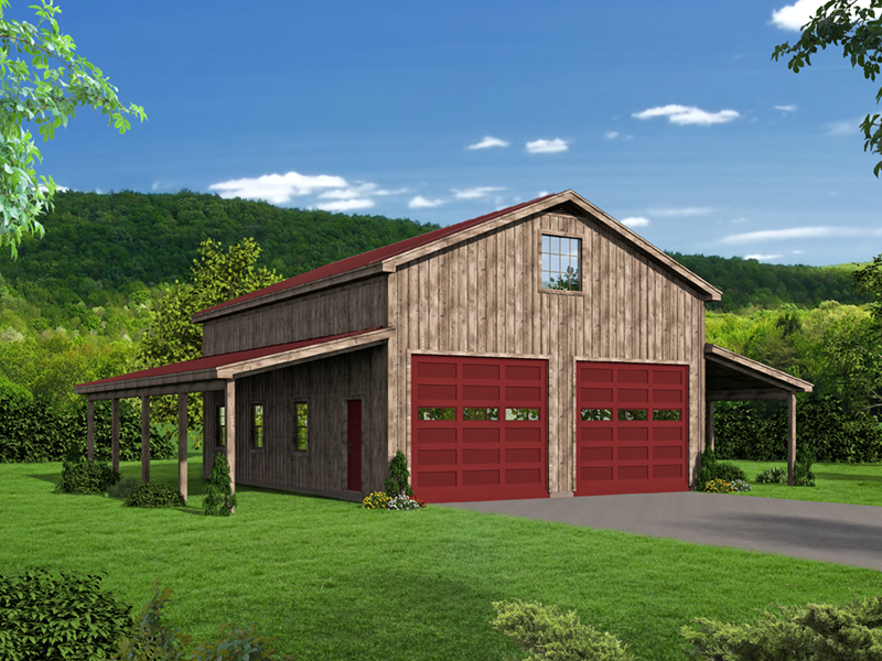 Building Plans Front of Home -  142D-7503 | House Plans and More