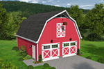 Building Plans Front of Home -  142D-7513   House Plans and More